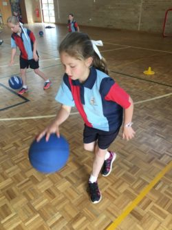 Year 3 Enjoying basketball unit