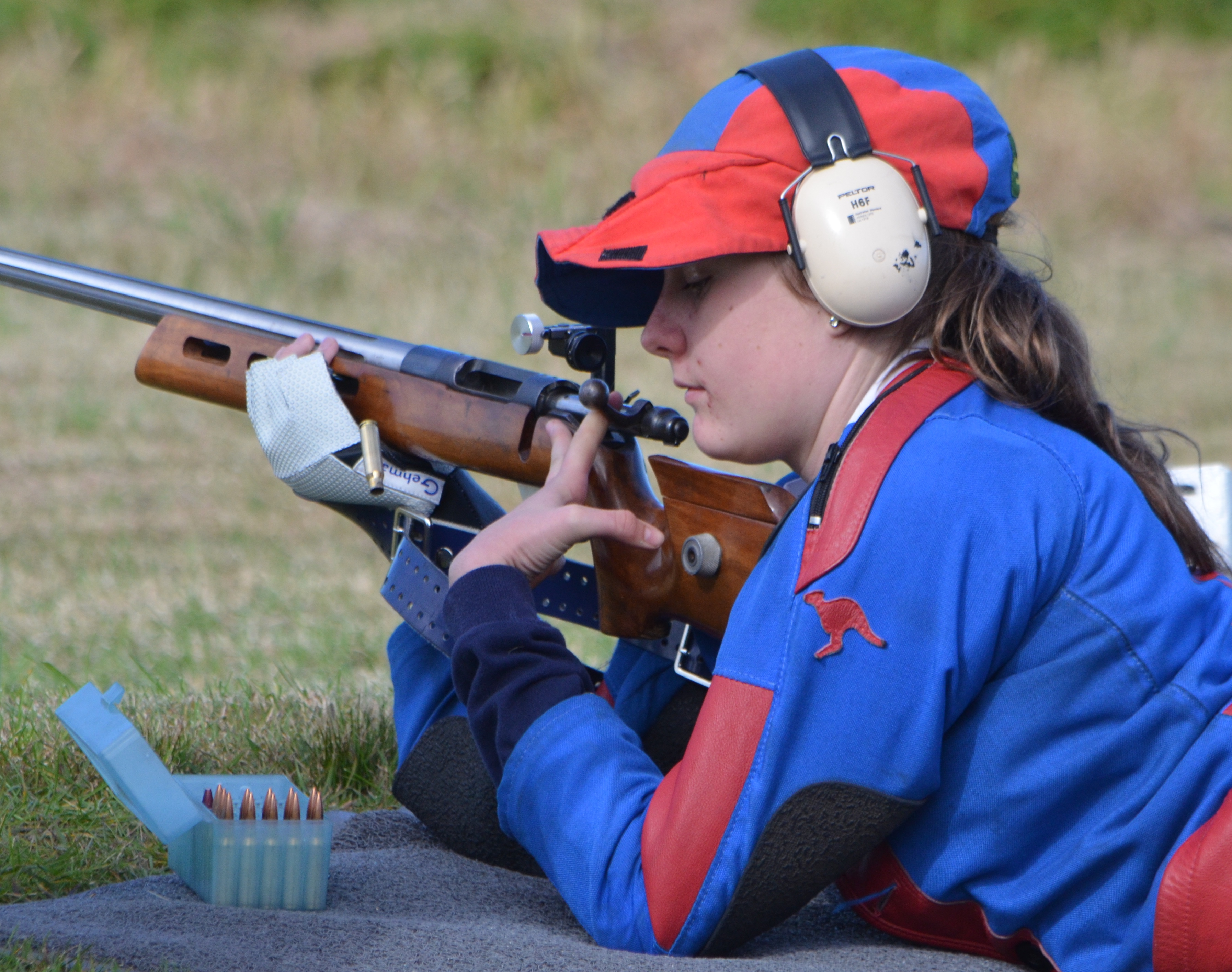 student-at-rifle-club